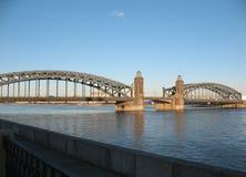 Ponte Peter o grande. Foto de Stock
