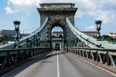 Ponte piacevole a Budapest, Ungheria immagine stock