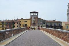 Ponte Pietra Royaltyfri Fotografi