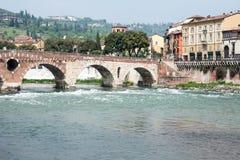 Ponte Pietra Royalty Free Stock Photos