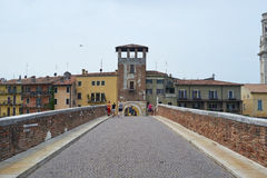 Ponte Pietra Royalty Free Stock Photography
