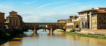 Ponte Ponte Vecchio Immagine Stock