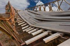 Ponte quebrada. Foto de Stock Royalty Free
