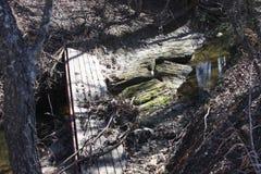 Ponte quebrada Foto de Stock