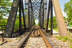 Ponte Railway Imagens de Stock