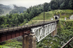 Ponte Railway foto de stock royalty free