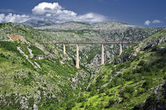 Ponte Railway Fotografia de Stock Royalty Free