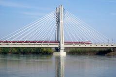 Ponte Railway Imagem de Stock