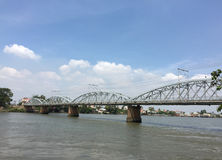 Ponte Railway em Vietname Imagem de Stock Royalty Free