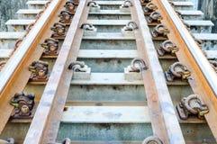 Ponte railway velha. Fotos de Stock