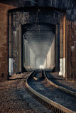 Ponte railway velha Foto de Stock