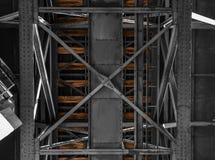 Ponte Railway velha em Porto Imagem de Stock