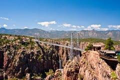 Ponte real do desfiladeiro Fotografia de Stock Royalty Free