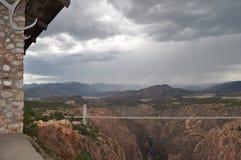 Ponte real do desfiladeiro Fotos de Stock