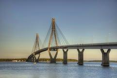 A ponte retraçar Imagem de Stock Royalty Free