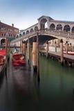 Ponte Rialto Венеция, Италия Стоковые Изображения
