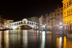 Ponte Rialto Bridge Stock Image