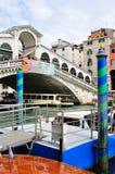 Ponte Rialto, Venecia Imagen de archivo libre de regalías
