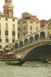 Ponte Rialto in Venetië Royalty-vrije Stock Fotografie