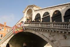 Ponte Rialto Venezia Fotografie Stock