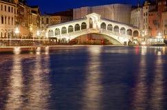 Ponte Rialto Venezia 免版税库存照片