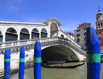 Ponte Rialto in Venice Royalty Free Stock Photography