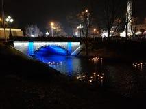 Ponte Riga Fotografia Stock Libera da Diritti