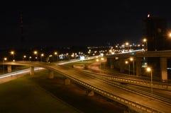 Ponte a Riga, Lettonia Fotografia Stock