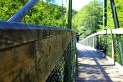Ponte romântica Imagem de Stock Royalty Free