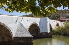 Ponte Romana Bridge in Silves Portugal Royalty Free Stock Photo
