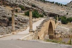 Ponte romano a Cendere Fotografia Stock