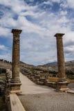Ponte romano a Cendere Immagine Stock