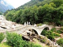 Ponte Romano royaltyfri fotografi
