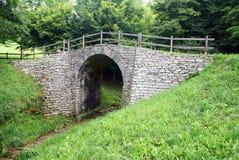 Ponte romano on via claudia augusta Royalty Free Stock Photo