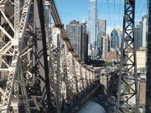 Ponte a Roosevelt Island Immagine Stock