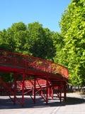 Ponte rosso Immagine Stock Libera da Diritti