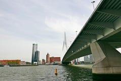 Ponte Rotterdam do Erasmus imagem de stock royalty free