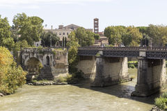Ponte Rotto Photo libre de droits