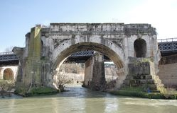 Ponte rotto in Rome Royalty Free Stock Photos