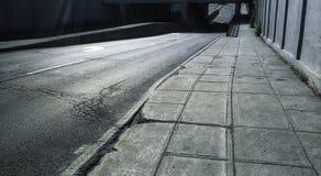 Ponte, rua e passeio Fotografia de Stock Royalty Free
