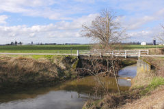 Ponte rural pequena Foto de Stock