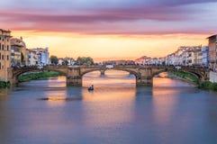 Ponte S Trinita in Florenz, Italien Lizenzfreie Stockfotografie