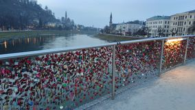Ponte Salisburgo fotografia stock libera da diritti