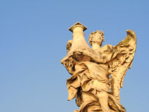 Ponte SAN Angelo, Ρώμη Στοκ Φωτογραφίες