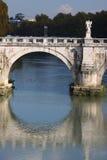 Ponte San Angelo, Rome Royalty-vrije Stock Foto's