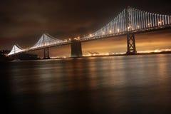 Ponte, San Francisco ed Oakland della baia Fotografia Stock
