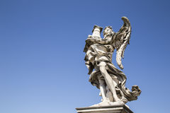 Ponte Sant'Angelo. Rome, italy Royalty Free Stock Photo
