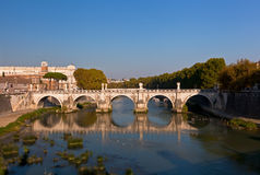 Ponte Sant'Angelo Fotografie Stock Libere da Diritti