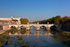 Ponte Sant'Angelo Royalty Free Stock Photos