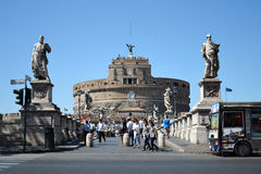 Ponte Sant Angelo Stock Images